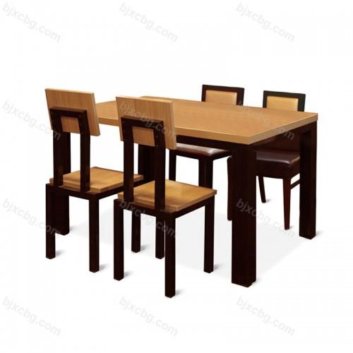 饭店食堂小吃店餐桌椅13