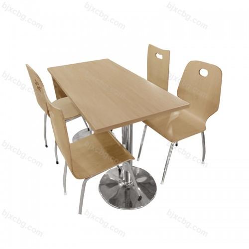 食堂肯德基餐桌椅11