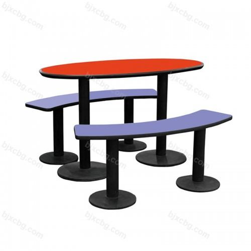 食堂麦当劳小吃店餐桌椅09