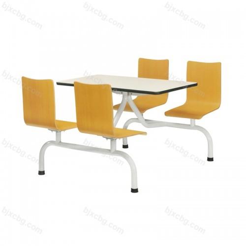 中式快餐厅食堂饭店餐桌椅08