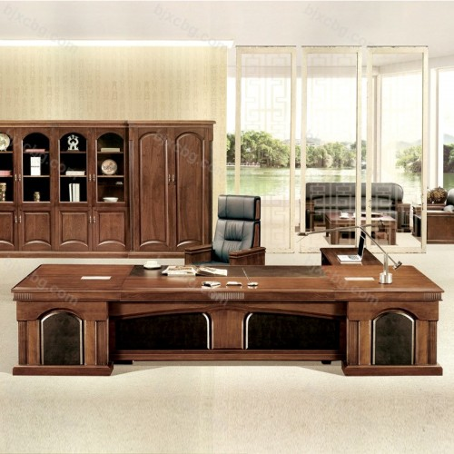 油漆高端大班台老板办公桌BT-01