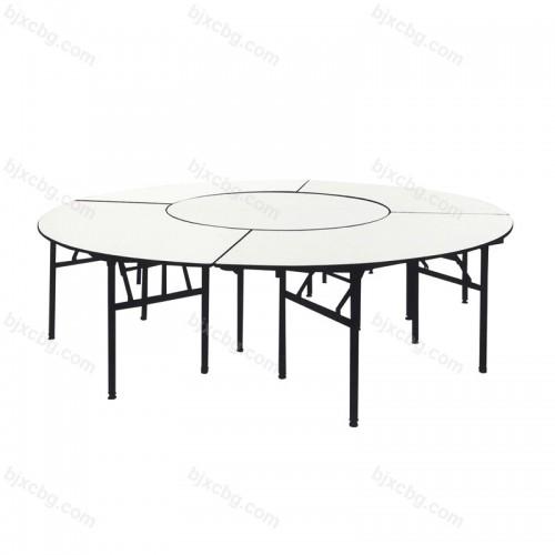 简约折叠圆形餐桌CZY-03