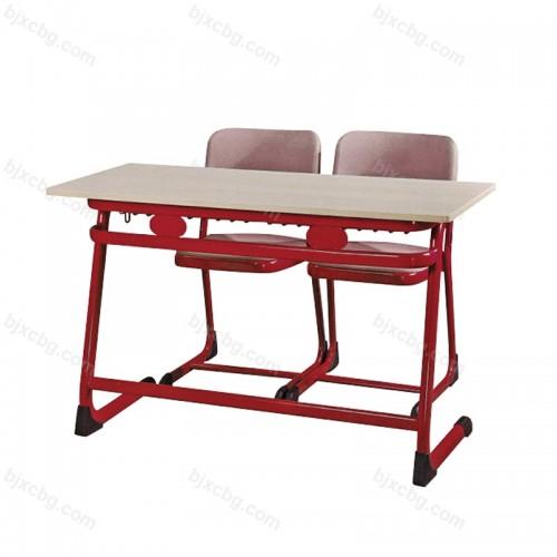 学生双人位连体课桌椅KZY-20