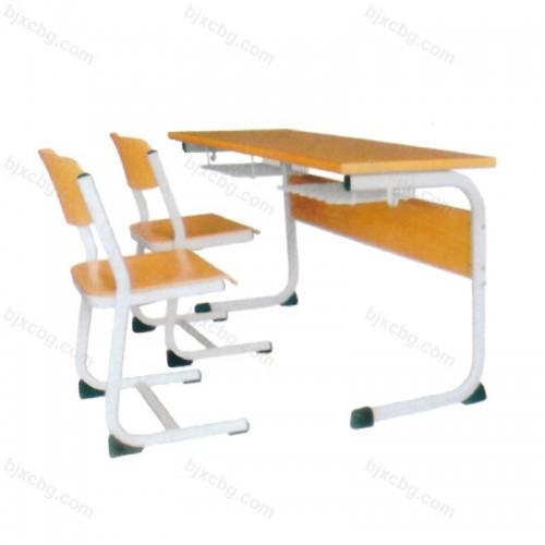 双人中小学生辅导班课桌椅KZY-18