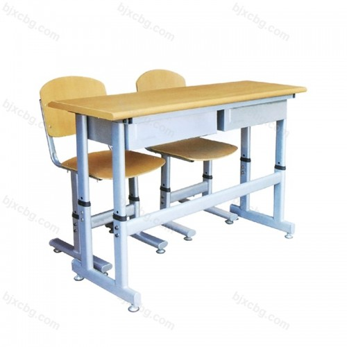 双人位学生升降课桌椅KZY-17