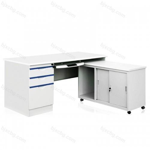 办公台电脑桌带锁02