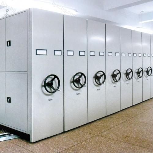 档案室手摇移动文件密集柜MJG-08