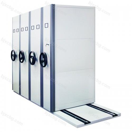 钢制密集柜移动轨道文件档案柜MJG-05