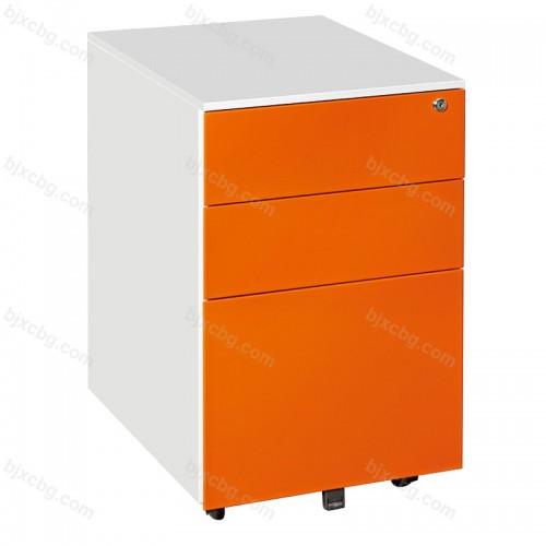 移动矮柜带锁抽屉资料柜01