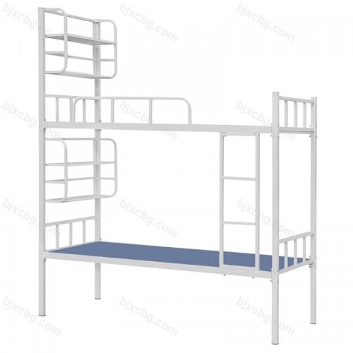 学生员工宿舍双层床带置物架SXC-03