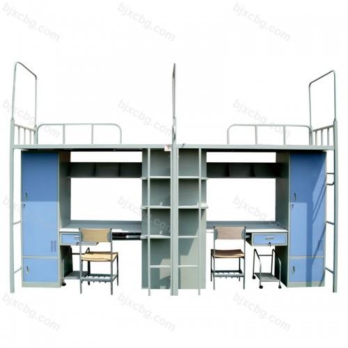 学生公寓宿舍组合床带柜书架GYC-05