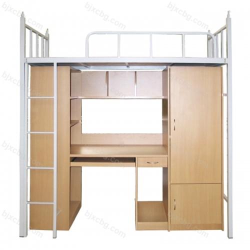 多功能宿舍学生床上床下桌组合柜GYC-02