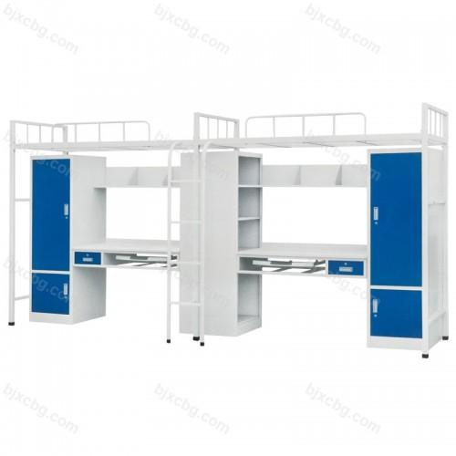 公寓床学校宿舍连体床上床下桌GYC-01