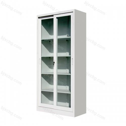 通体玻璃移门柜资料柜02