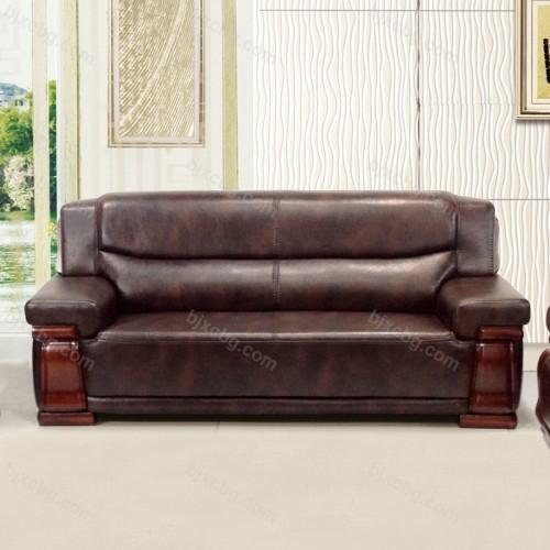 公司真皮办公室沙发接待沙发SF-07