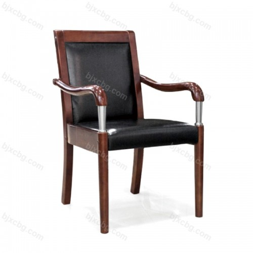 电脑椅家用皮椅实木办