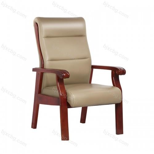 实木会议椅四脚带扶手木质椅15