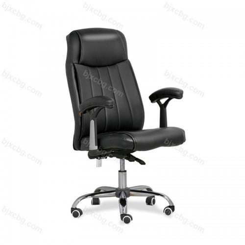 真皮老板椅高靠背座椅转椅15