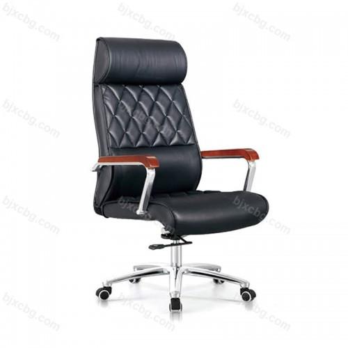 时尚转椅真皮老板椅可躺10