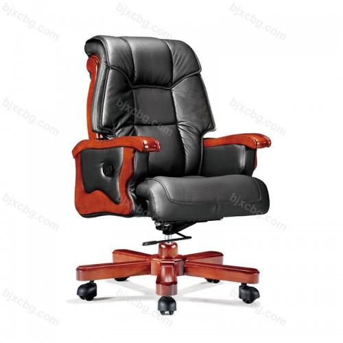 可躺按摩大班椅实木转椅11