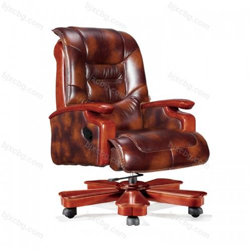办公椅子升降办工椅牛皮大班椅10