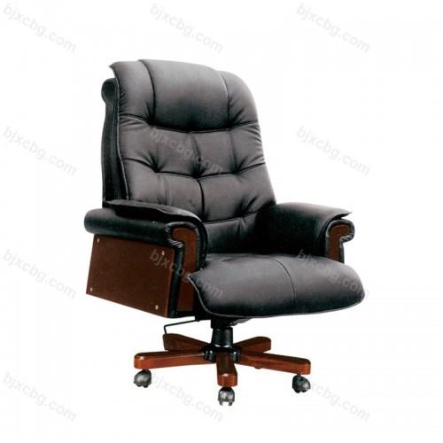 可躺转椅电脑椅真牛皮总裁椅06