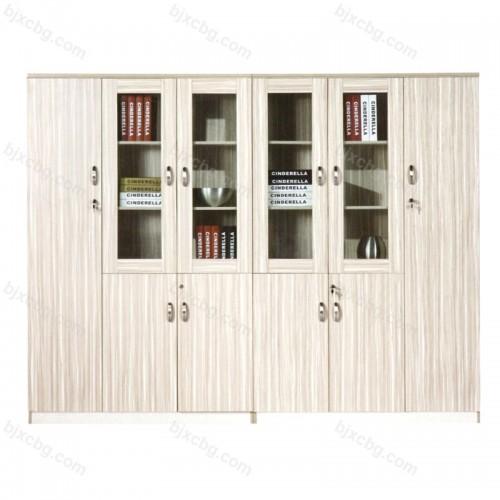 带锁精品办公室木质书柜30