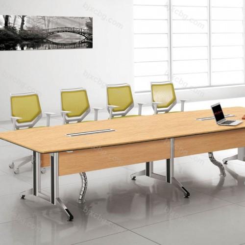 会议长桌简约现代长方形大板桌34