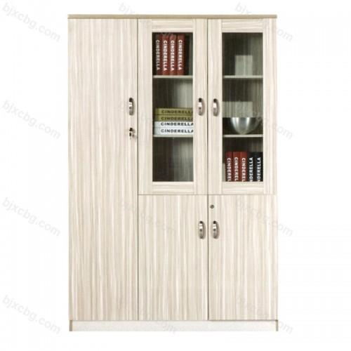 板式储物柜子带锁书柜28