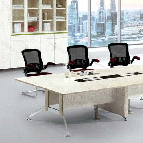 会议桌长桌简约现代板式会议桌33