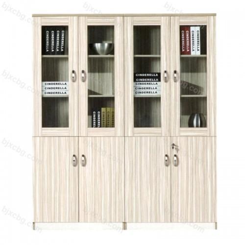 简约木质落地板式档案柜26