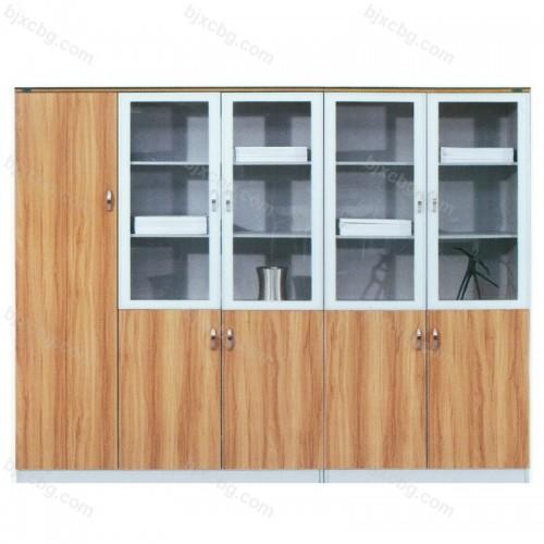 储物柜办公室玻璃书柜24