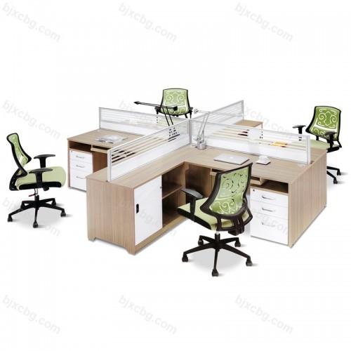 板式时尚办公桌屏风隔断17