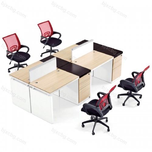 现代电脑桌办工作位员工桌15