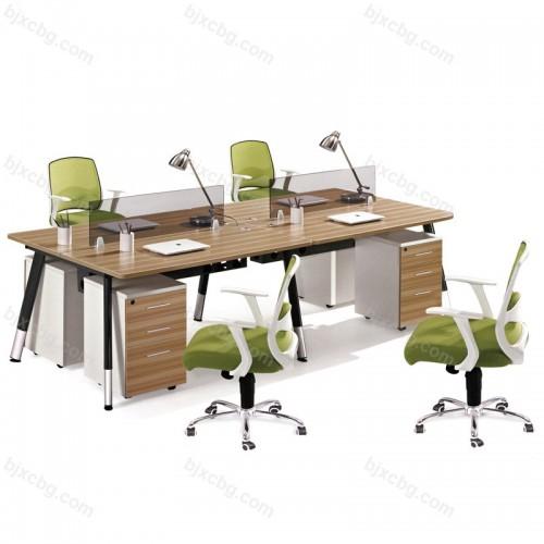 现代屏风卡座员工办工作桌11