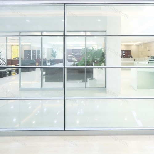 钢化玻璃单玻璃隔断01