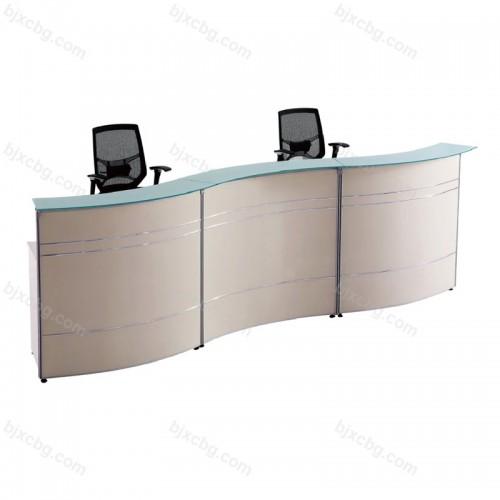时尚办公前台桌收银台19