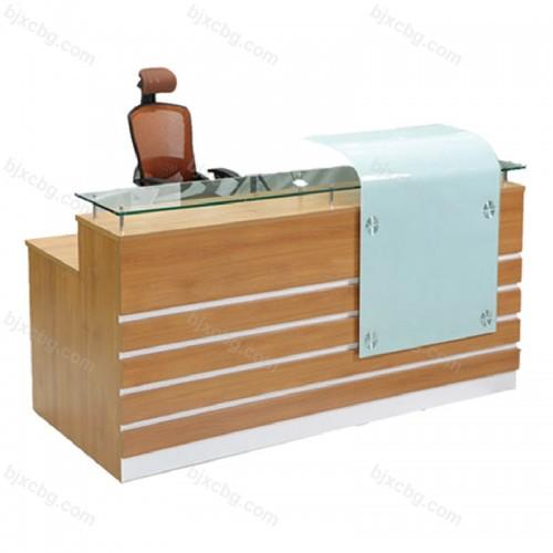 简约前台接待台办公桌16