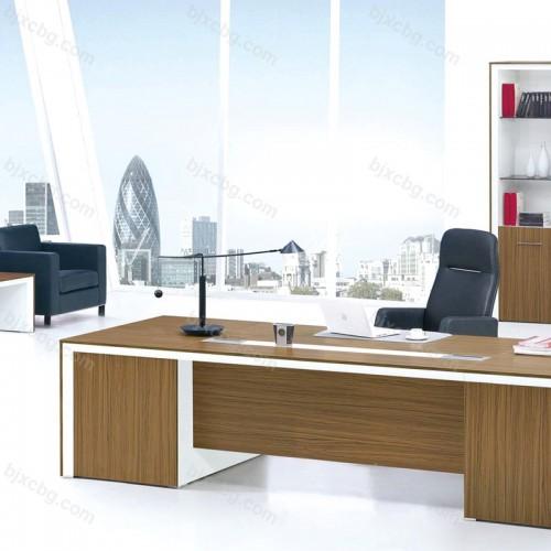 经理台大班板式桌总裁办公台10