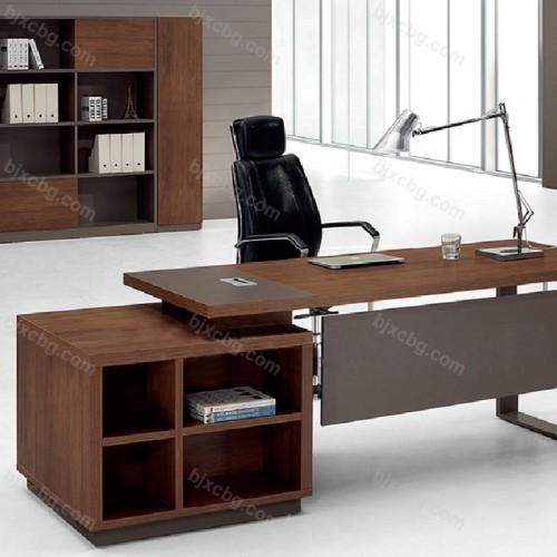 现代办公桌总裁经理简约办公台06