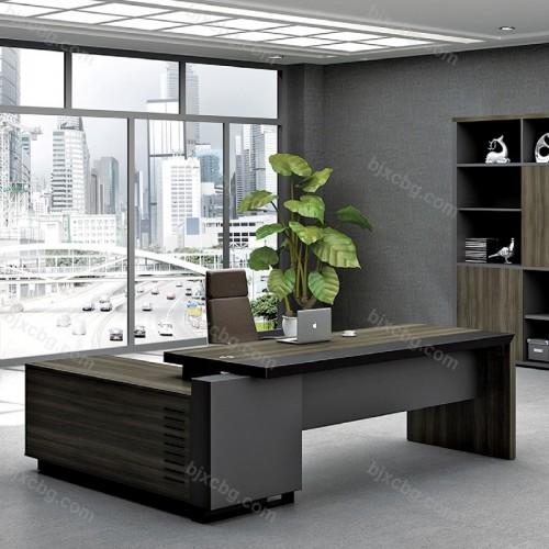 简约现代主管台经理桌01