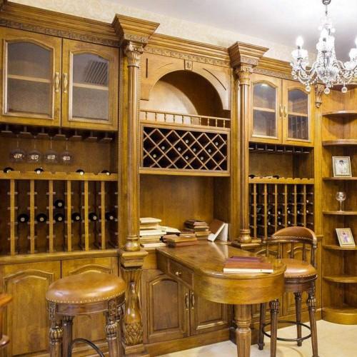 定制整体酒窖酒柜家具17