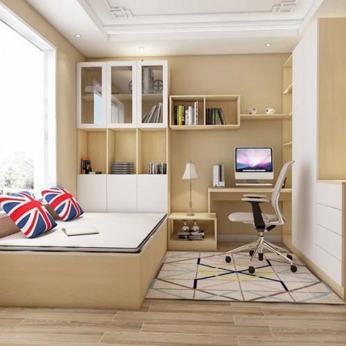 小户型卧室整体定制家具14