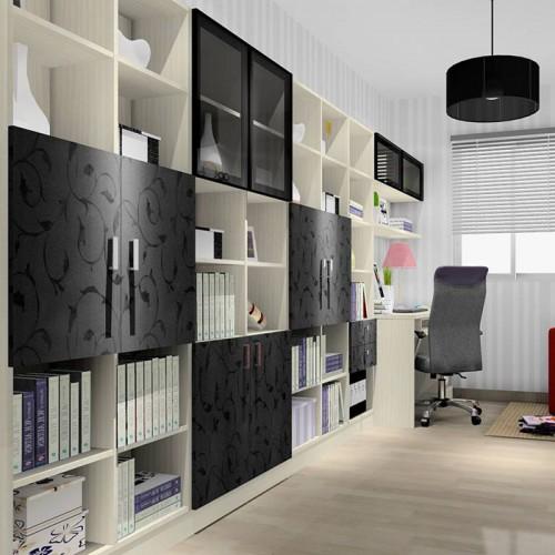 简约系列全屋定制整体书房家具10