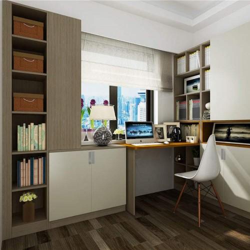 简易书桌书柜定制家具17