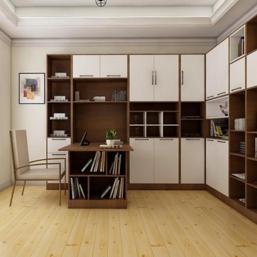 简约书柜书桌定制家具24