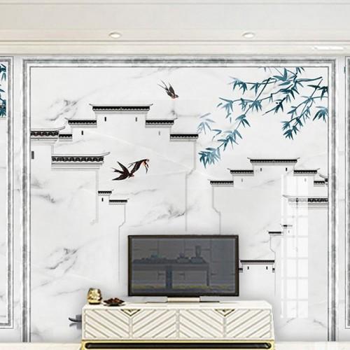 全屋定制花鸟石材护墙板18