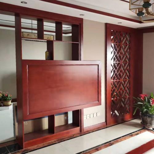 客厅电视护墙板22