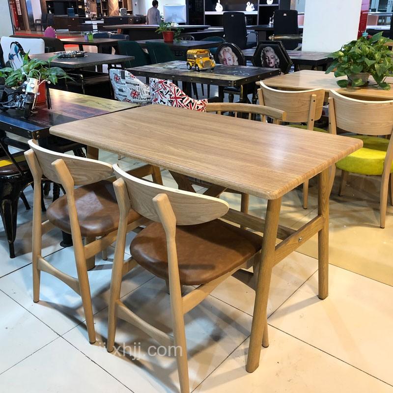 北欧风格餐桌餐椅组合09