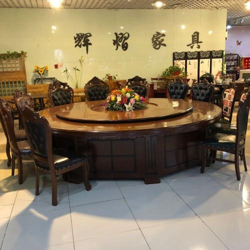 辉熠酒店圆餐桌椅25